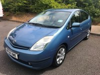 USED 2004 04 TOYOTA PRIUS 1.5 T4 VVT-I 5d AUTO 77 BHP HYBRID, 1 OWNER* LOW MIES, GREAT HISTORY-SAT NAV ETC