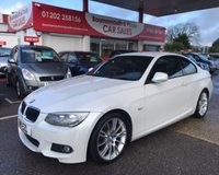 2011 BMW 3 SERIES 2.0 320D M SPORT COUPE 2d 181 BHP £6995.00