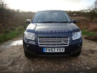 USED 2008 57 LAND ROVER FREELANDER 2.2 TD4 XS 5d 159 BHP Landrover Freelander 2, 2.2td4, XS, 6 speed manual