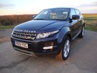 2013 LAND ROVER RANGE ROVER EVOQUE 2.2 SD4 PURE TECH 5d AUTO 190 BHP £14495.00