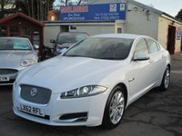 USED 2012 62 JAGUAR XF 2.2 D PREMIUM LUXURY 4d AUTO 190 BHP SATELLITE NAVIGATION - REVERSING CAMERA