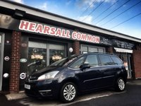 USED 2008 08 CITROEN C4 GRAND PICASSO 2.0 EXCLUSIVE HDI EGS 5d AUTO 135 BHP