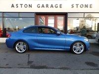 USED 2016 16 BMW 2 SERIES 2.0 225D M SPORT PLUS 2d AUTO 222 BHP ** PRO NAV * LEATHER ** ** M SPORT PLUS PACK **