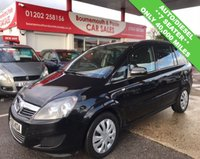 USED 2010 60 VAUXHALL ZAFIRA 1.9 EXCLUSIV CDTI AUTO *ONLY 40,000 MILES* 7 SEATER