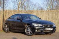 2015 BMW 4 SERIES 2.0 420D XDRIVE M SPORT 2d AUTO 188 BHP £17250.00