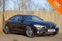 USED 2015 15 BMW 4 SERIES 2.0 420D XDRIVE M SPORT 2d AUTO 188 BHP £0 DEPOSIT BUY NOW PAY LATER - PRO NAVIGATION - HARMAN & KARDON
