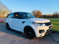 USED 2016 16 LAND ROVER RANGE ROVER SPORT 3.0 SDV6 AUTOBIOGRAPHY DYNAMIC 5d AUTO 306 BHP 1 Owner! Full LR Service History! Pan Roof, Meridian, Reversing Cam!