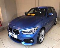 2015 BMW 1 SERIES 116D M SPORT £13500.00
