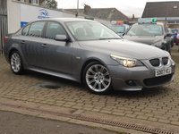 2007 BMW 5 SERIES 3.0 525D M SPORT 4d AUTO 195 BHP £6795.00
