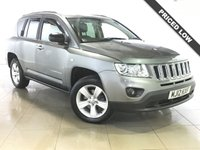 USED 2012 12 JEEP COMPASS 2.1 CRD SPORT PLUS 5d 134 BHP 17 Alloy Wheels/Air Con