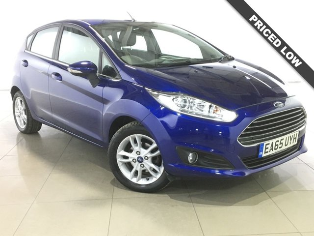 View our 2015 65 FORD FIESTA 1.5 ZETEC TDCI 5d 74 BHP