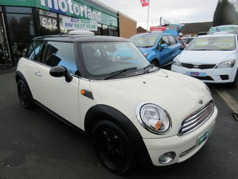 2009 MINI HATCH ONE 1.4 ONE 3d 94 BHP £4500.00