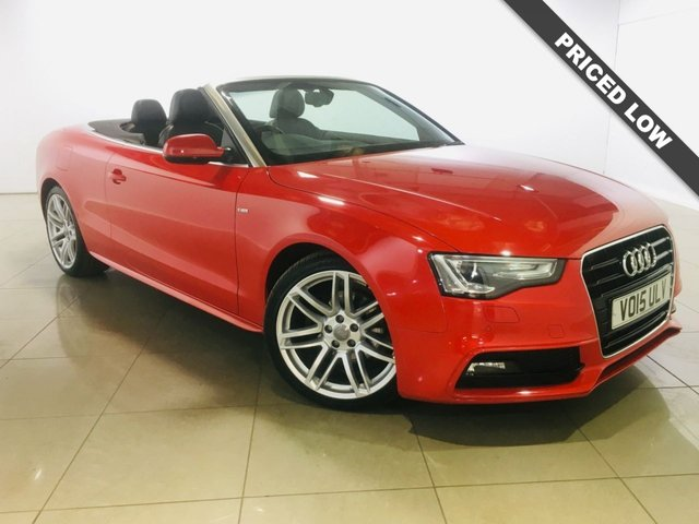 View our 2015 15 AUDI A5 2.0 TDI S LINE SPECIAL EDITION 2d AUTO 175 BHP