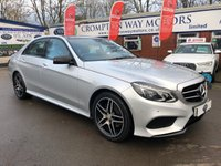 USED 2015 65 MERCEDES-BENZ E CLASS 2.1 E220 BLUETEC AMG NIGHT EDITION PREMIUM 4d 174 BHP 0%  FINANCE AVAILABLE ON THIS CAR PLEASE CALL 01204 317705