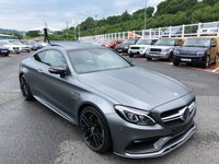 2016 MERCEDES-BENZ C 63 AMG C63 S AMG EDITION 1 Coupe 5.5 Bi-Turbo V8 503bhp £65750.00