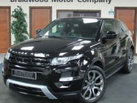 2014 LAND ROVER RANGE ROVER EVOQUE 2.2 SD4 DYNAMIC 3d AUTO 190 BHP £23750.00