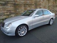 2009 MERCEDES-BENZ E CLASS 3.0 E280 CDI SPORT 4d AUTO 187 BHP £5490.00