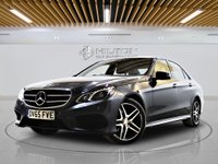 USED 2015 65 MERCEDES-BENZ E-CLASS 2.1 E220 BLUETEC AMG NIGHT ED PREMIUM PLUS 4d AUTO 174 BHP - EURO 6 + SAT/NAV + PAN ROOF + ARTICO LEATHER +  Well-Maintained by Only 1 Owner From New With Full Main Dealer - 0% DEPOSIT FINANCE AVAILABLE