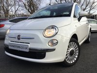 2013 FIAT 500 1.2 LOUNGE 3d 69BHP £4490.00