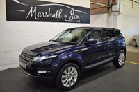 2013 LAND ROVER RANGE ROVER EVOQUE 2.2 SD4 PURE TECH 5d 190 BHP 4X4 £16500.00