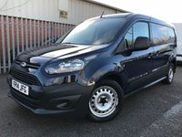 2014 FORD TRANSIT CONNECT 210 90PS LWB L2 BLUE PANEL VAN *AIRCON*DAB*PARKSENSORS* £5195.00