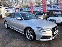 USED 2013 13 AUDI A6 2.0 TDI S LINE 4d 175 BHP 0%  FINANCE AVAILABLE ON THIS CAR PLEASE CALL 01204 393 181