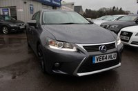 USED 2014 64 LEXUS CT 1.8 200H LUXURY 5d AUTO 134 BHP