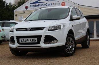 2014 FORD KUGA 2.0 TITANIUM TDCI 2WD 5d 138 BHP £11500.00