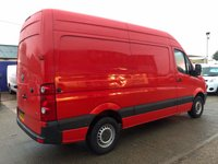 USED 2008 08 VOLKSWAGEN CRAFTER CR35 TDI 2.5 35 MWB HIGH ROOF 136 BHP