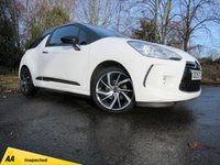 USED 2015 15 DS DS 3 1.2 PURETECH DSTYLE NAV S/S 3d 109 BHP FULL TOUCH SCREEN SATELLITE NAVIGATION