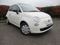 USED 2014 64 FIAT 500 1.2 C POP 3d CONVERTIBLE  * CONVERTIBLE * £30.00 A YEAR ROAD TAX * ECONOMICAL *