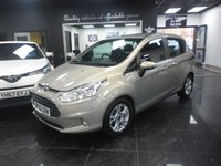 USED 2012 62 FORD B-MAX 1.6 STUDIO 5d AUTO 104 BHP