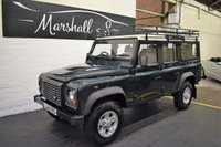 2010 LAND ROVER DEFENDER 110 2.4 110 STATION WAGON LWB 5d 122 BHP £17899.00