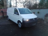 USED 2014 14 VOLKSWAGEN TRANSPORTER 2.0 T32/140 TDI LWB AIR CON Air Conditioning, Reverse Camera, Long Wheel Base