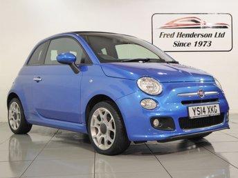 2014 FIAT 500 1.2 C S 3d 69 BHP £6990.00