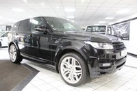 2015 LAND ROVER RANGE ROVER SPORT 4.4 SDV8 AUTOBIOGRAPHY DYNAMIC AUTO 339 BHP £47950.00