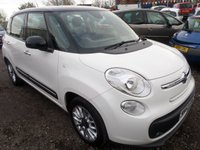 USED 2013 63 FIAT 500L 1.2 MULTIJET LOUNGE 5d 85 BHP