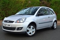 2007 FORD FIESTA 1.2 ZETEC 16V 3d. VERY LOW MILEAGE £SOLD