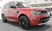 USED 2013 62 LAND ROVER RANGE ROVER SPORT 3.0 SDV6 HSE RED 5d AUTO 255 BHP **AUTOBIOGRAPHY+RED EDITION**