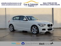 USED 2013 13 BMW 1 SERIES 2.0 118D M SPORT 5d 141 BHP BMW Service History Bluetooth Buy Now, Pay Later Finance!