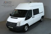 USED 2013 13 FORD TRANSIT 2.2 350 124 BHP LWB L3 H3 9 SEATER COMBI CREW MESS VAN ONE OWNER FULL S/H SPARE KEY