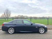 2012 BMW 5 SERIES 2.0 520D M SPORT 4d AUTO 181 BHP £10995.00