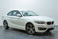 USED 2015 65 BMW 2 SERIES 1.5 218I SPORT 2d 134 BHP 1 OWNER + FULL BMW SERVICE HISTORY