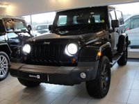 2013 JEEP WRANGLER 2.8 SAHARA CRD 2d AUTO 197 BHP Quilted Heated Leather Upholstery, Full Serviced with Warranty £21994.00