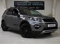 2015 LAND ROVER DISCOVERY SPORT 2.2 SD4 HSE LUXURY 5d AUTO 190 BHP £22680.00
