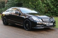 USED 2013 62 MERCEDES-BENZ E CLASS 2.1 E250 CDI BLUEEFFICIENCY S/S SPORT 2d AUTO 204 BHP