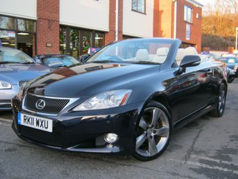 2011 LEXUS IS 2.5 250C SE-L 2d AUTO 204 BHP £10995.00