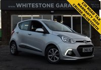 USED 2015 65 HYUNDAI I10 1.2 PREMIUM 5d 86 BHP £30 YEAR TAX, WARRANTY UNTIL DEC 2020, CRUISE CONTROL, BLUETOOTH, AIR CONDITIONING,
