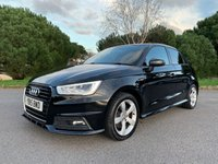USED 2015 15 AUDI A1 1.6 SPORTBACK TDI S LINE 5d AUTO 114 BHP 1 OWNER AUTOMATIC S LINE 5 DOOR A1 WITH 21000 MILES FSH PANORAMIC SUNROOF