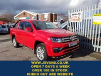 USED 2018 18 VOLKSWAGEN AMAROK 3.0 DC V6 TDI HIGHLINE 4MOTION  AUTO  2018/18 REG ( ALL NEW VW AMAROK BIG V6 DIESEL 2018/18 REG )